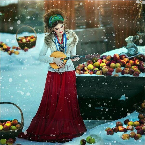 Rus güzeller peri masallarının güzellerine dönüştü - Sputnik Türkiye