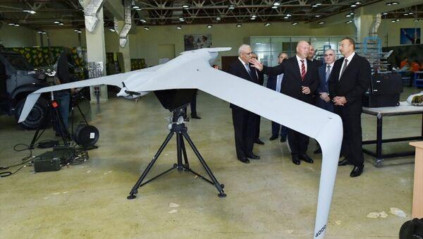 Azerbaycan yeni nesil insansız hava aracı - Sputnik Türkiye