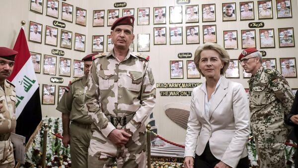 Almanya Savunma Bakanı Leyen Irak'ta - Sputnik Türkiye