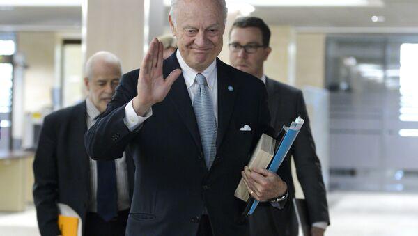 Staffan de Mistura, UN Special Envoy of the Secretary-General for Syria. - Sputnik Türkiye