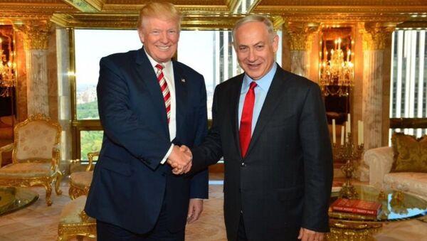 Binyamin Netanyahu ve Donald Trump - Sputnik Türkiye