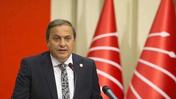 CHP Genel Başkan Yardımcısı Seyit Torun, parti genel merkezinde basın toplantısı düzenledi. - Sputnik Türkiye
