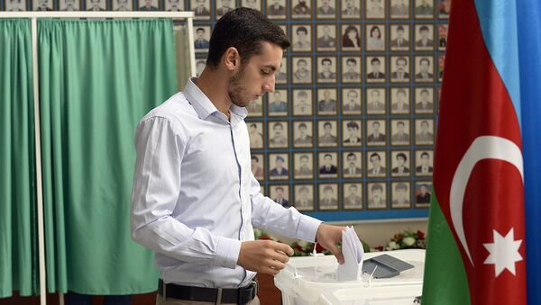 Azerbaycan'da referandum - Sputnik Türkiye