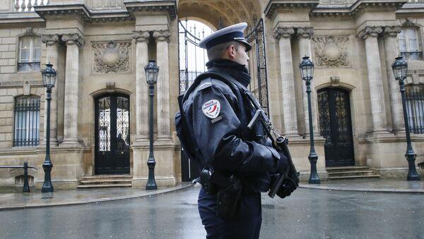 Elysee Sarayı - Polis - Paris - Sputnik Türkiye