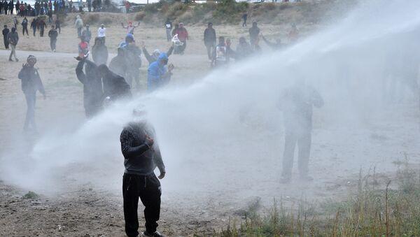 Calais'de sığınmacılara destek gösterisi - Sputnik Türkiye
