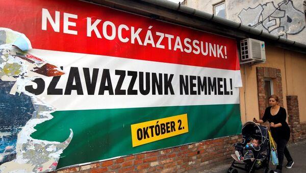 Macaristan sığınmacı referandumu - Sputnik Türkiye