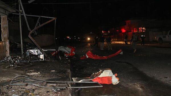 Haseke intihar saldırısı - Sputnik Türkiye