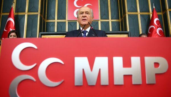 MHP Genel Başkanı-Devlet Bahçeli - Sputnik Türkiye