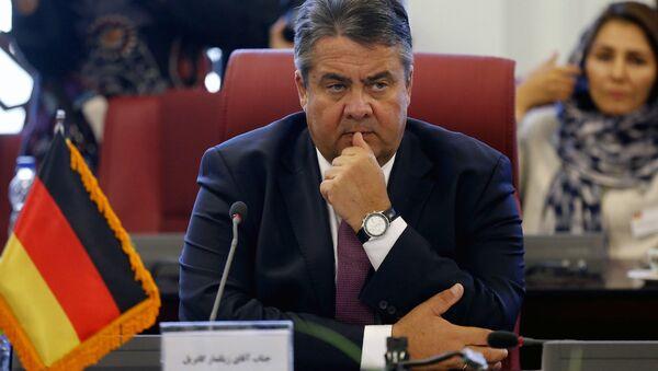 Almanya Ekonomi Bakanı ve Başbakan Yardımcısı Simon Gabriel - Sputnik Türkiye