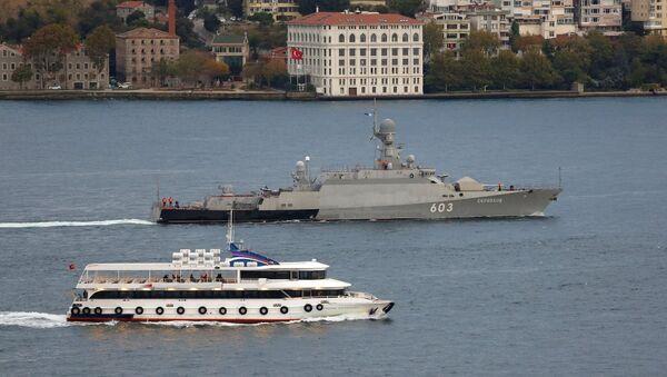 Rus savaş gemisi Zelyonıy Dol - Sputnik Türkiye