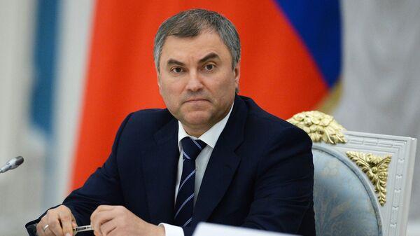 Vyaçeslav Volodin - Sputnik Türkiye