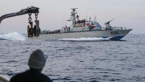 Gazze'ye yardım götüren Zaytouna gemisi - Sputnik Türkiye