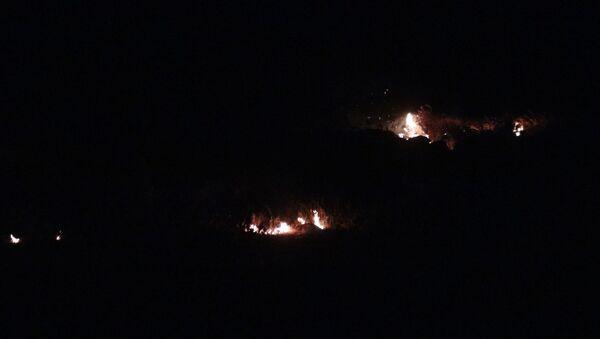 Kilis'te sınır hattında patlama - Sputnik Türkiye