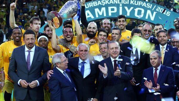 32. Erkekler Cumhurbaşkanlığı Kupası - Sputnik Türkiye