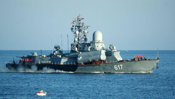 Rusya'nın Karadeniz Filosu'na ait 'Miraj' isimli savaş gemisi - Sputnik Türkiye