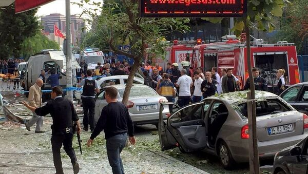 Bahçelievler ilçesindeki polis merkezinin yakınında patlama meydana geldi. - Sputnik Türkiye