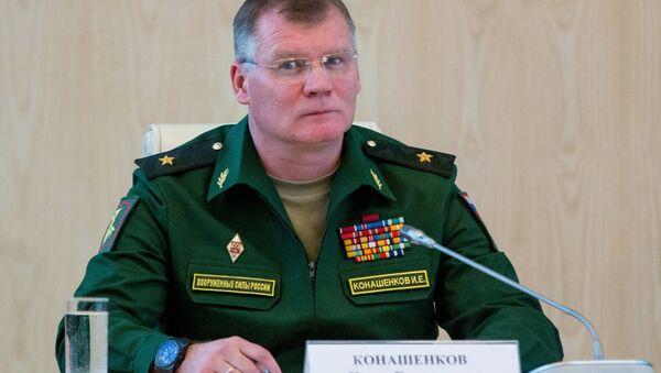 Rusya Savunma Bakanlığı Sözcüsü Tümgeneral İgor Konaşenkov - Sputnik Türkiye