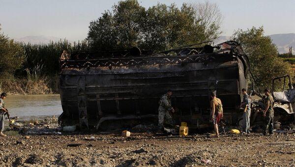 Afganistan'ın Kunduz kenti yakınlarında NATO savaş uçaklarının 2009 yılındaki bombardımanında 90 kişi ölmüştü - Sputnik Türkiye