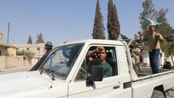 Özgür Suriye Ordusu (ÖSO)  militanları - Sputnik Türkiye