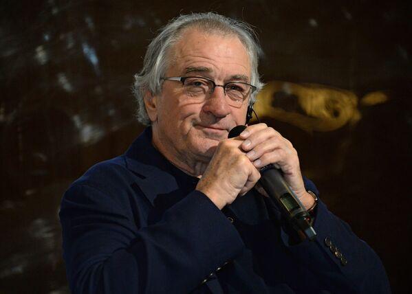 American actor, film director and producer Robert De Niro opens Nobu Crocus City restaurant in Moscow - Sputnik Türkiye