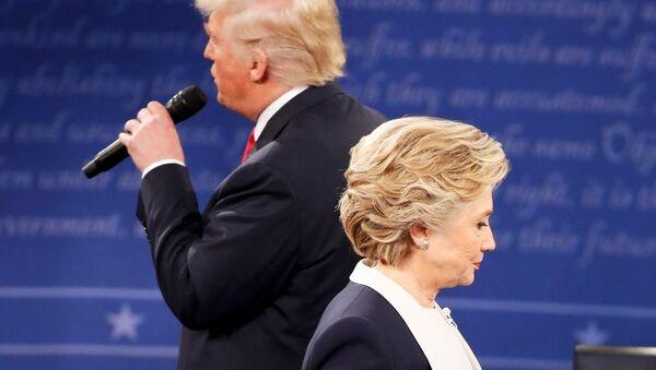 Donald Trump - Hillary Clinton - Sputnik Türkiye