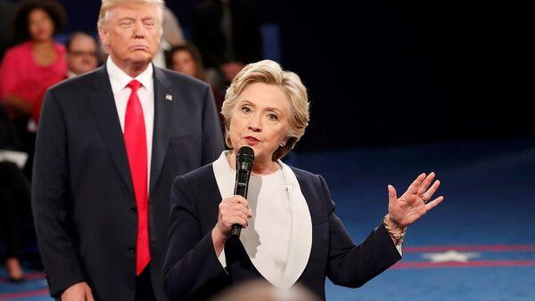 Hillary Clinton-Donald Trump - Sputnik Türkiye
