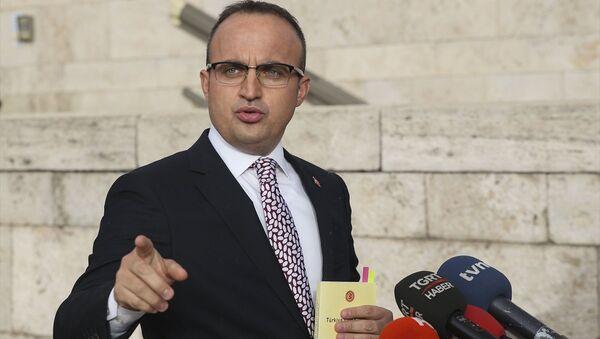 AK Parti Grup Başkanvekili Bülent Turan - Sputnik Türkiye