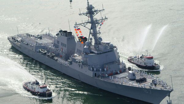 ABD Donanması'na ait destroyer - Sputnik Türkiye