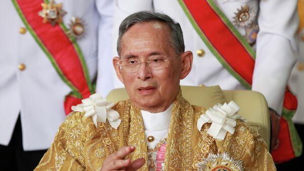 Thailand's King Bhumibol Adulyadej - Sputnik Türkiye