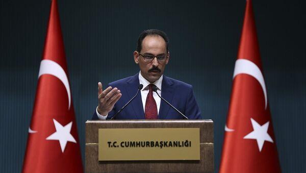 Cumhurbaşkanlığı Sözcüsü İbrahim Kalın - Sputnik Türkiye