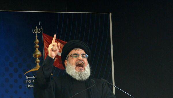 Hasan Nasrallah - Sputnik Türkiye