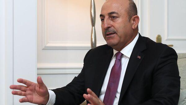Türkiye Dışişleri Bakanı Mevlüt Çavuşoğlu - Sputnik Türkiye