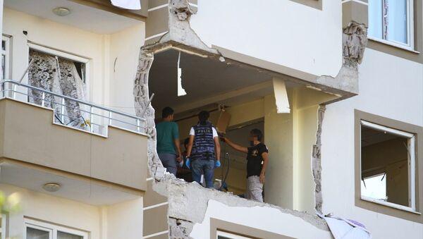 Gaziantep'te IŞİD'in canlı bomba hücreleri sorumlusu öldürüldü - Sputnik Türkiye