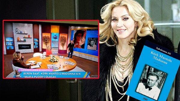 Kürk Mantolu Madonna kitabı - Sputnik Türkiye