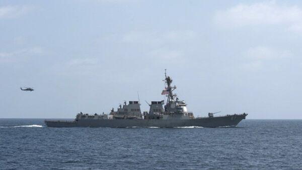ABD Donanması'na bağlı USS Mason - Sputnik Türkiye