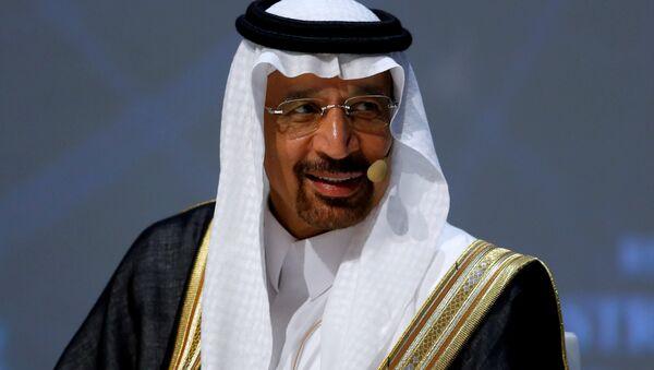 Suudi Arabistan Enerji Bakanı Halid el Falih  - Sputnik Türkiye