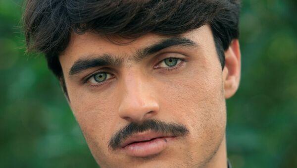 Arshad Khan-Pakistanlı yakışıklı çaycı - Sputnik Türkiye