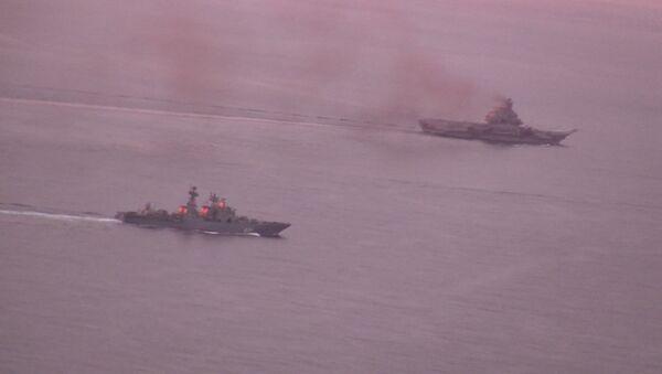 Suriye'ye giden Rus kruvazörü Dover Boğazından geçiyor - Sputnik Türkiye