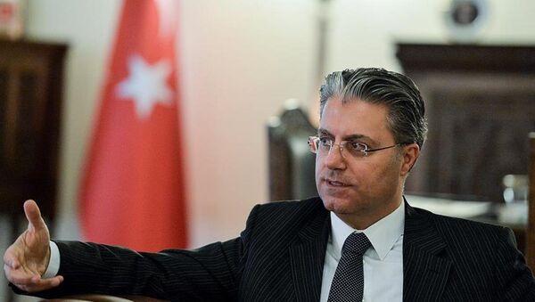 Türkiye'nin Tahran Büyükelçisi Rıza Hakan Tekin - Sputnik Türkiye