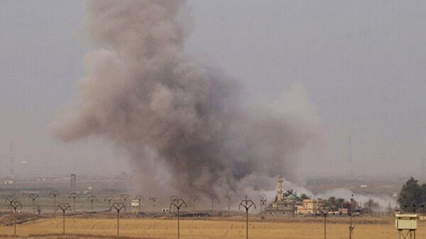 Irak Dakuk-Koalisyon güçleri Irak'a saldırı - Sputnik Türkiye