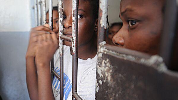 Haiti / hapishane - Sputnik Türkiye