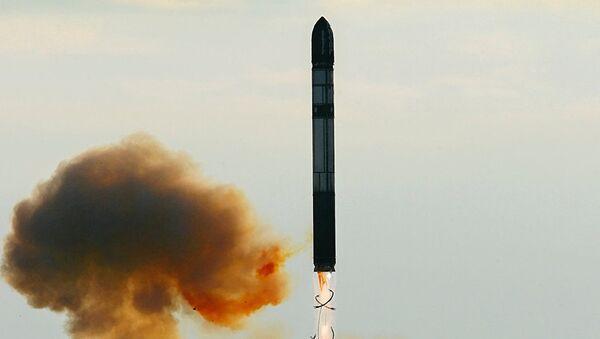 Rus termo nükleer balistik füzesi RS-28 Sarmat - Sputnik Türkiye
