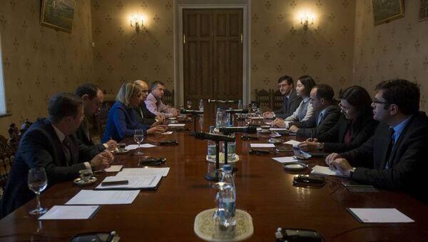 Rus ve Türk dışişleri sözcüleri Moskova'da - Sputnik Türkiye