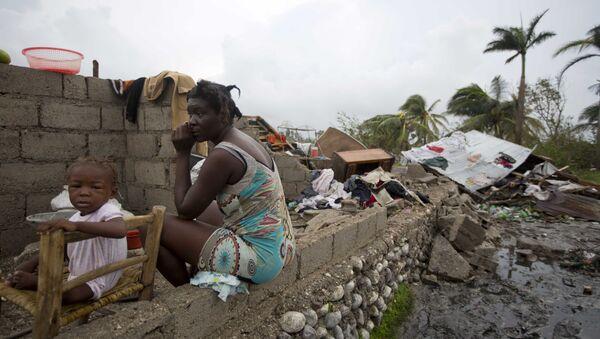 Matthew Kasırgası, Haiti. - Sputnik Türkiye