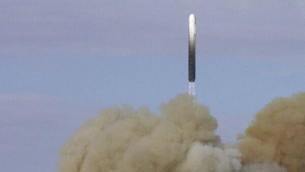 Rusya RS-18 balistik füze denemesi - Sputnik Türkiye