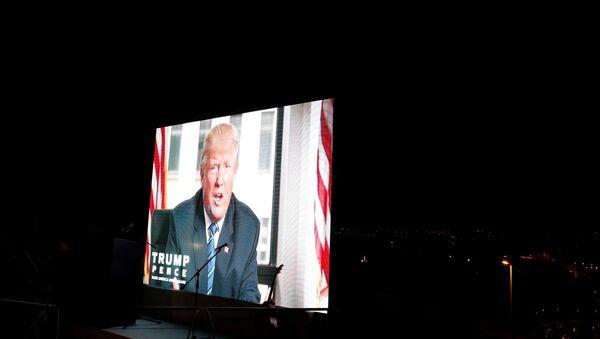 Donald Trump - İsrail - Sputnik Türkiye