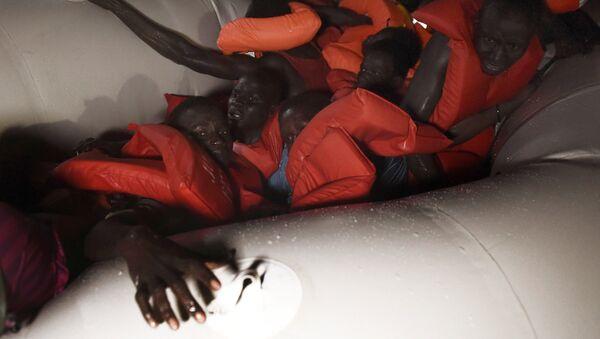 İtalya sığınmacı / göçmen - Sputnik Türkiye