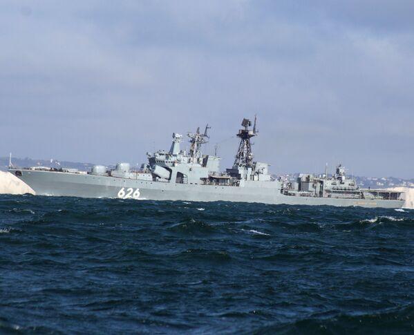 Koramiral Kulakov isimli denizaltı savar gemisi. - Sputnik Türkiye