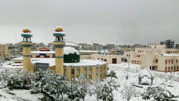İran kar yağışı - Sputnik Türkiye
