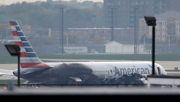 ABD - Chicago -uçak - Sputnik Türkiye